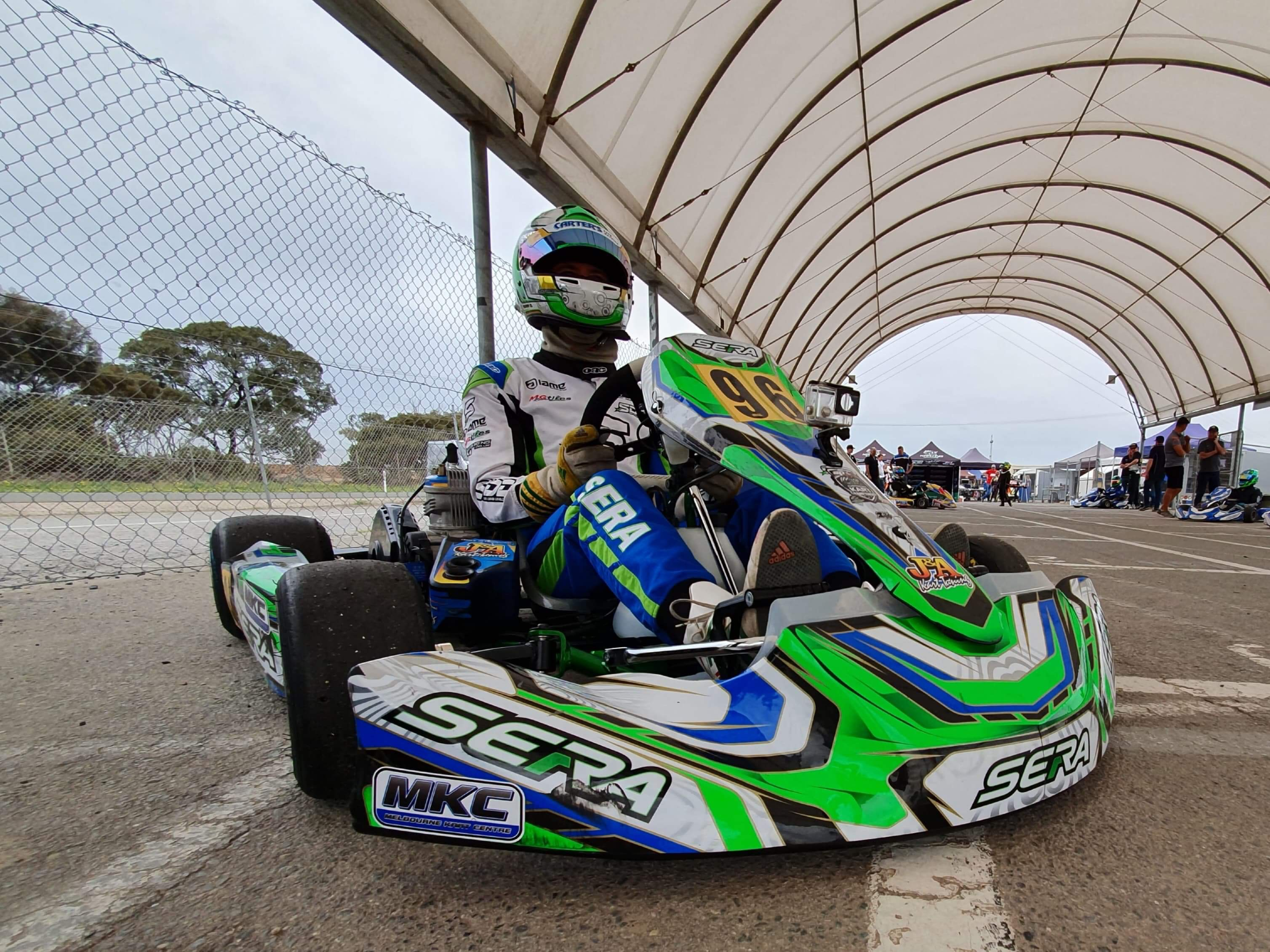 SDD score two podiums at the SA Open